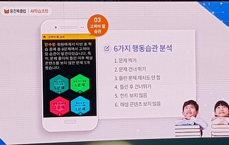 웅진북클럽의 AI학습 코칭을 통한 자동화, 개인화, 최적화