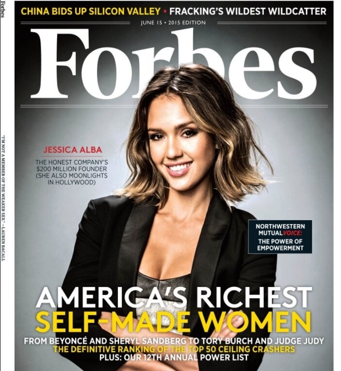 포브스 2015년  6월호-표지