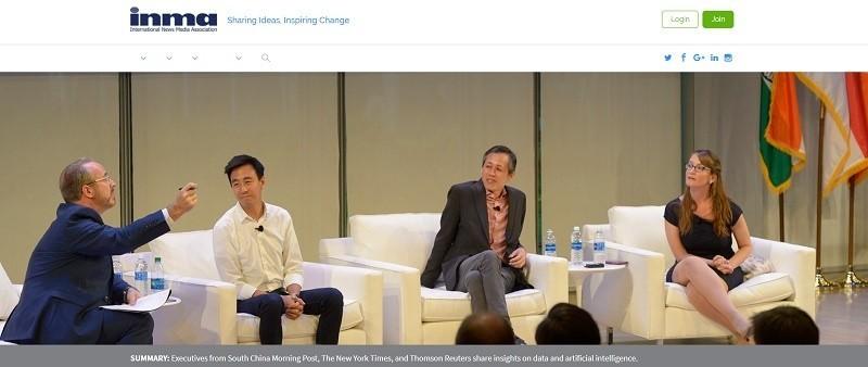 I빅데이터 뉴스와 AI, 그리고 미디어의 전략적 우선 순위 - INMA 블로그 발췌 사진
