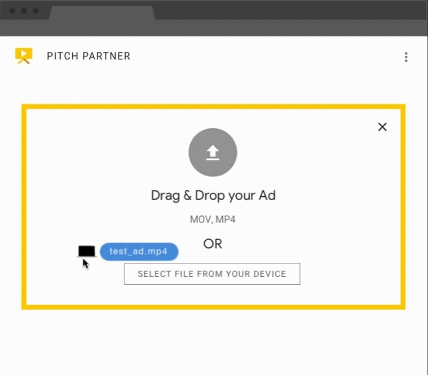 구글 영상 광고주를 위한 피치 파트너