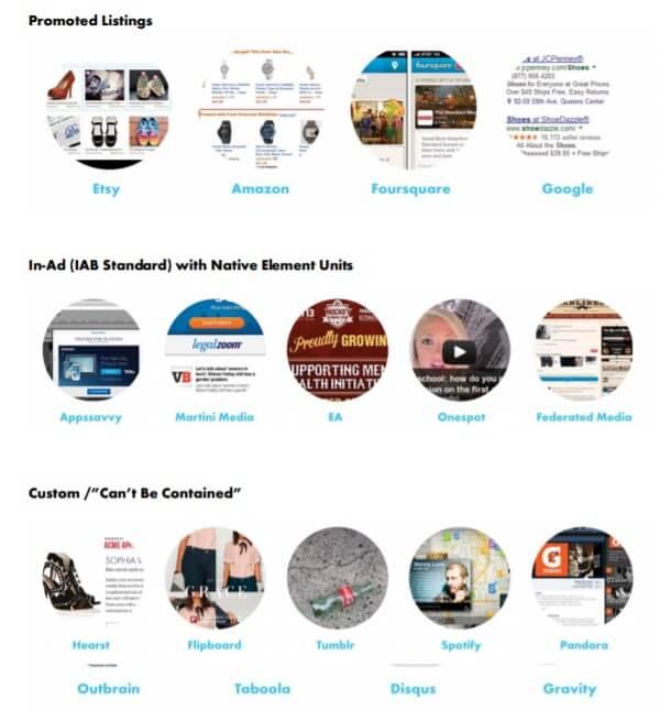 IAB Interactive Advertising Bureau가 정의한 네이티브 광고 6가지-2