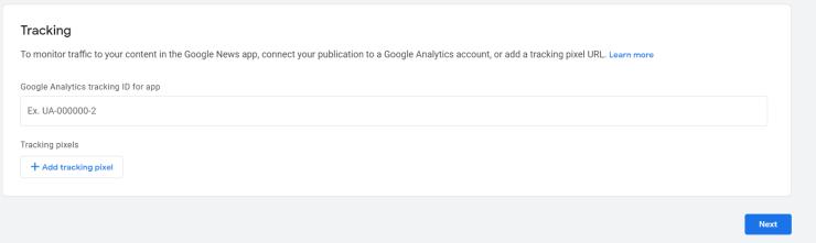 구글 퍼블리셔 센터 애널리틱스 추적 코드 추가하기