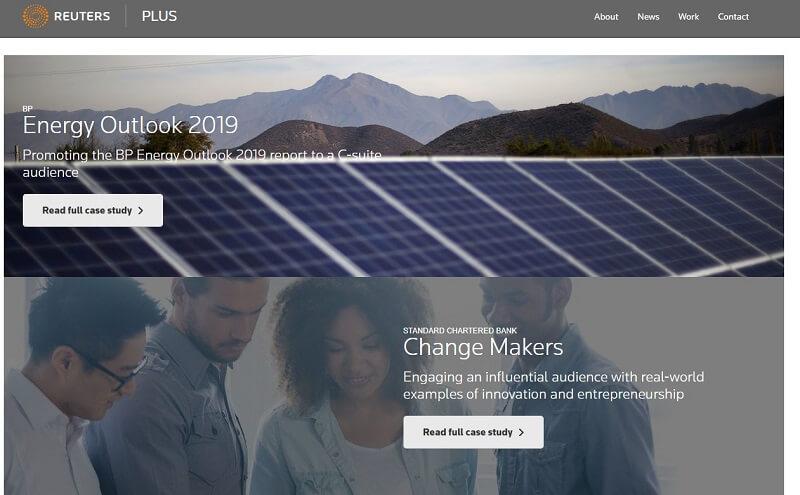 로이터 통신 브랜디드 콘텐츠-Reuters Plus