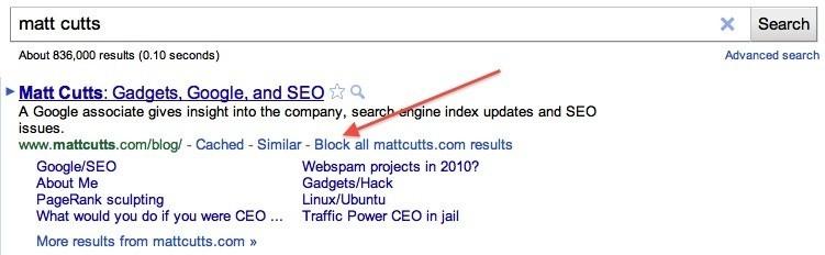 구글 크롬 사이트에서 사이트 차단 기능은 사라졌습니다