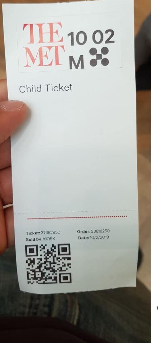 the met ticket