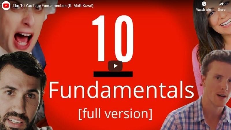 유튜브 성공을 위한 10가지 핵심 요소